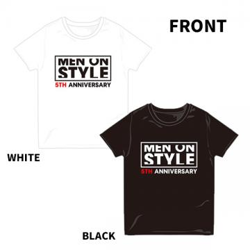 MEN ON STYLE 2016 Tシャツ(BLACK・WHITE)